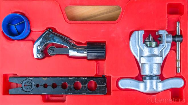 риммер, труборез, вальцовка для медных труб