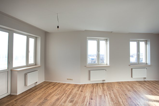 пустая комната после ремонта