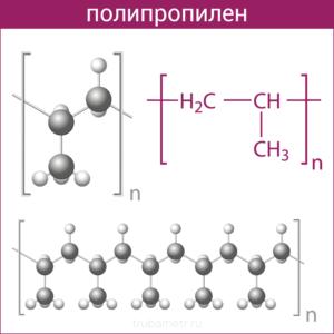 Формула полипропилена