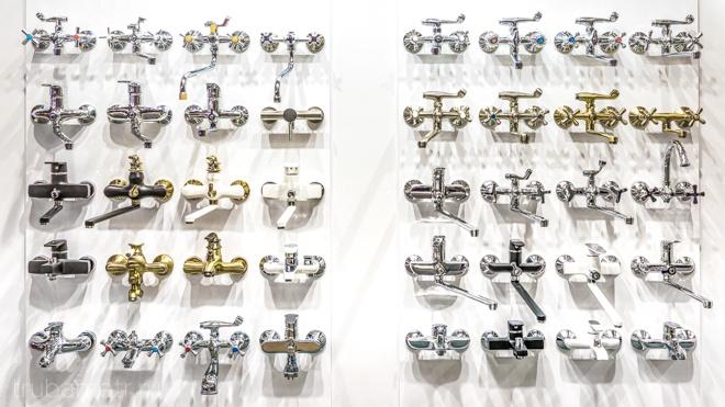 набор смесителей для ванной