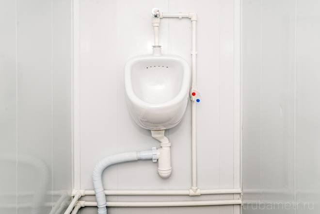 пп трубопровод в туалете