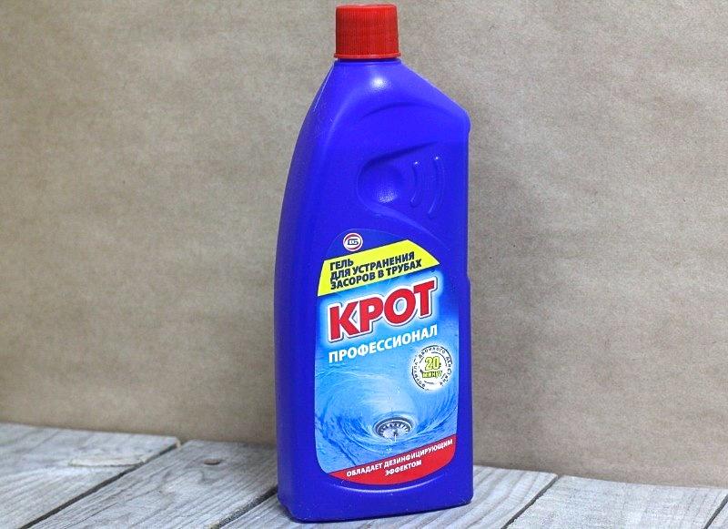 Пластиковая бутыль гель