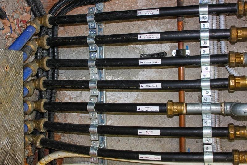 Система труб в которой рассчитывается объём воды